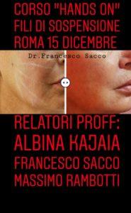 medicina estetica fili di sospensione studio dentistico dr. francesco sacco salerno